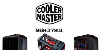 Cooler Master Logo and PC case views