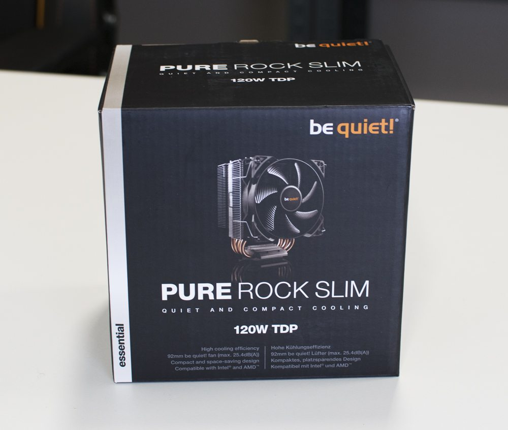 be quiet! Pure Rock Slim CPU Cooler Review 1