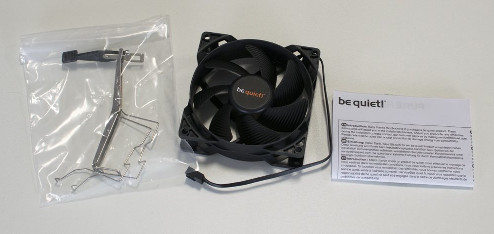 be quiet! Pure Rock Slim CPU Cooler Review 2
