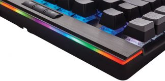You Wanted It All – Here It Is. CORSAIR Launches New Flagship K95 RGB Platinum Mechanical Gaming Keyboard at CES 2017