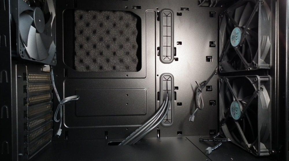 SilverStone KL07 Interior