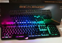 ASUS ROG Claymore RGB Mechanical Keyboard Review
