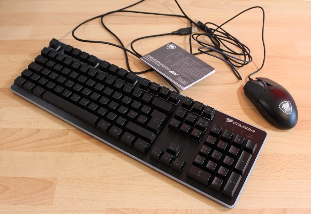 Cougar Deathfire EX mouse and keyboard