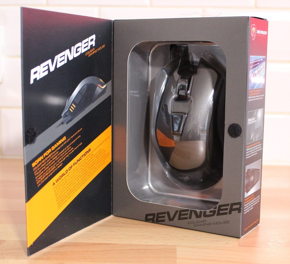 Cougar Revenger Box Door open