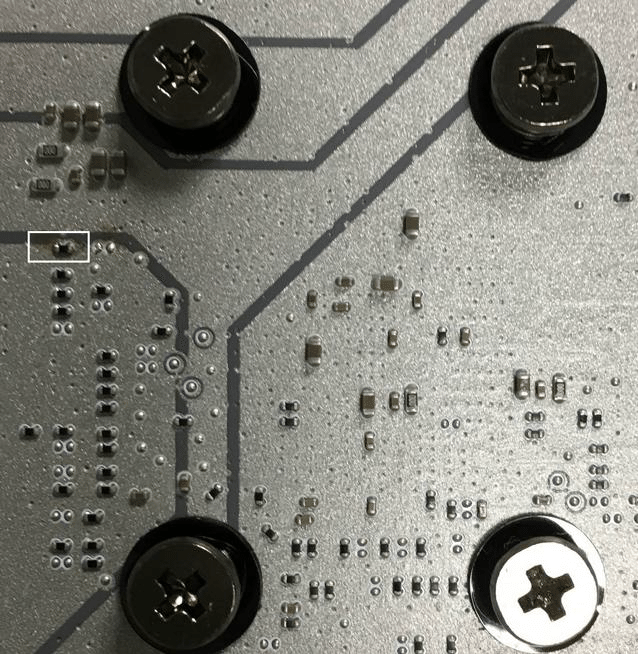 MSI Z270 SMD Behind PCH PCB