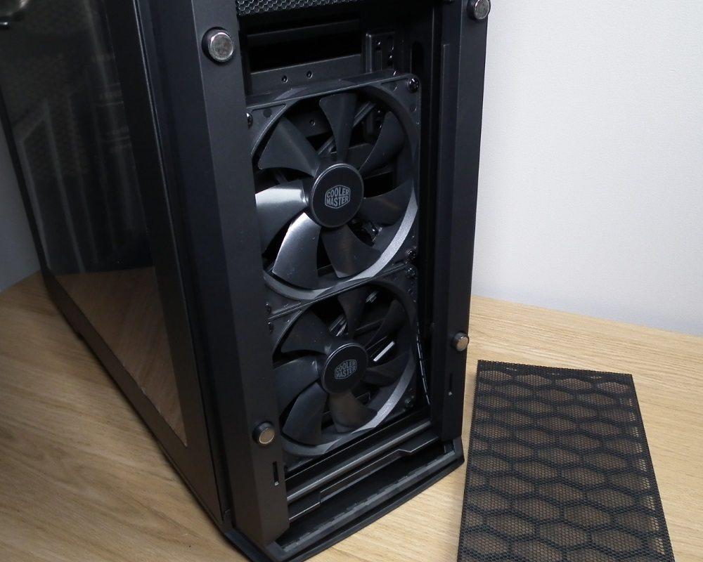 MasterCase Pro 6 Front Fans