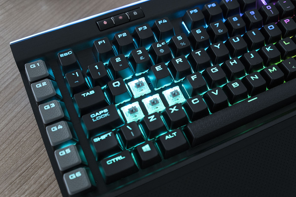 corsair k95 platinum switches