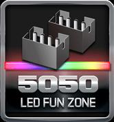 BIOSTAR RACING 5050 LED Fun Zone