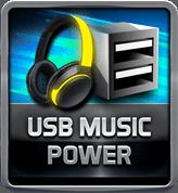 BIOSTAR RACING USB Music Power