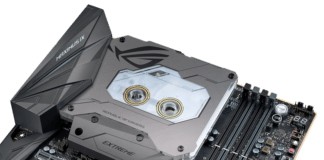 ROG MAXIMUS IX EXTREME_Monoblock_M.2 heatsink - Feature replacement