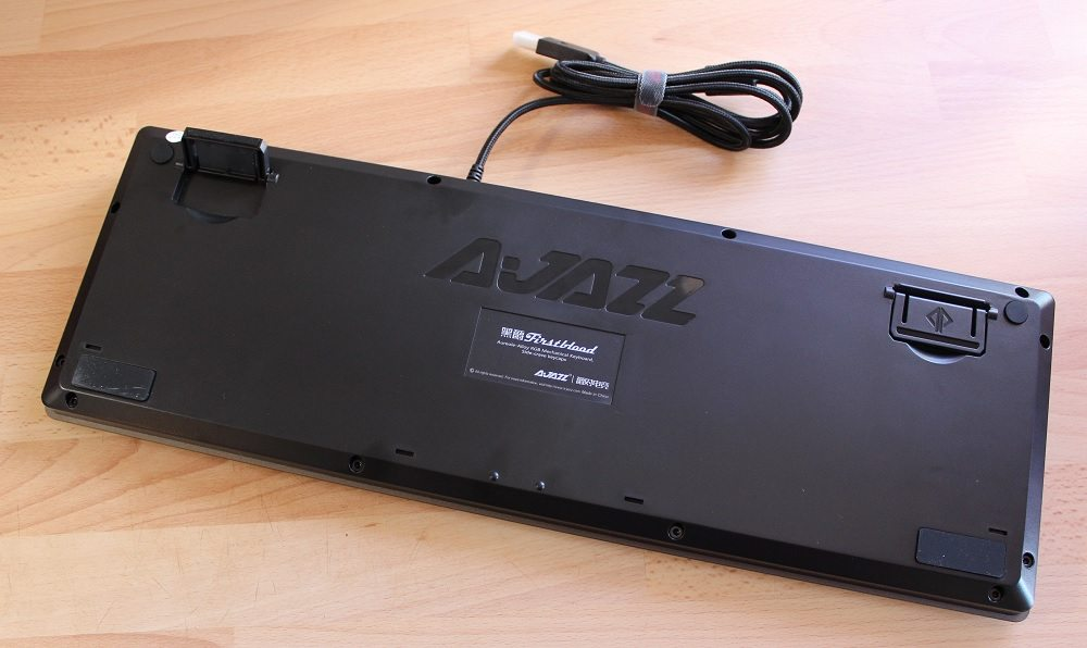 ajazz ak60 keyboard bottomside