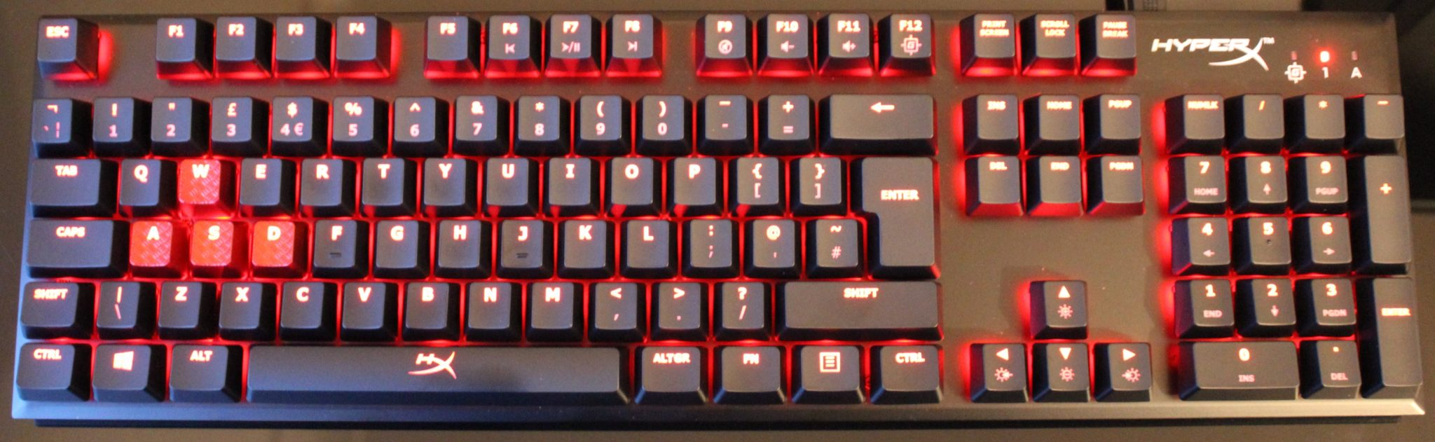 hyperx alloy fps lit up