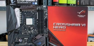 ASUS ROG CROSSHAIR VI HERO X370 Motherboard Review Featured Image