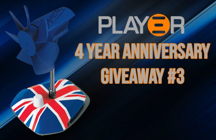 Arctic 4 Year Anniversary USB Fan Giveaway