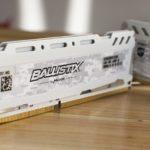 Ballistix Sport LT 2666MHz DDR4 16GB Close Up