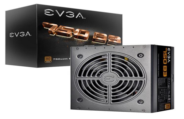 EVGA Introduce B3 Power Supply Series