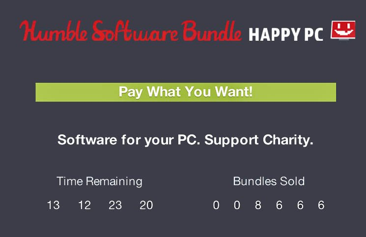 Humble Happy PC Bundle Available to Purchase
