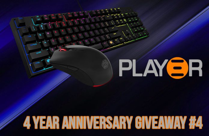 Play3r 4 Year Anniversary #4 Cooler Master Masterkeys L Combo Giveaway