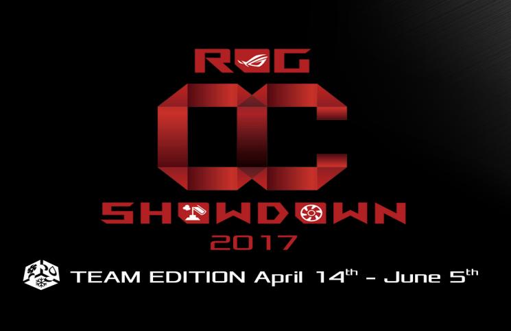 ASUS ROG Announce OC Showdown Team Edition