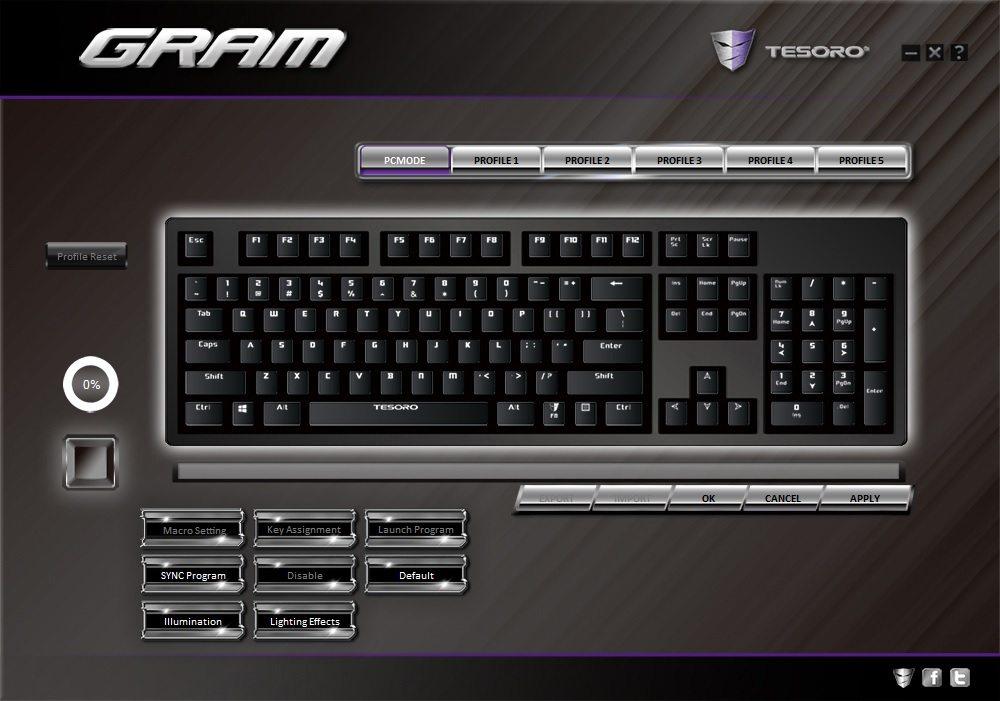 Tesoro GRAM Software#