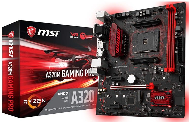 MSI Introduce the New A320 Gaming Pro Motherboard