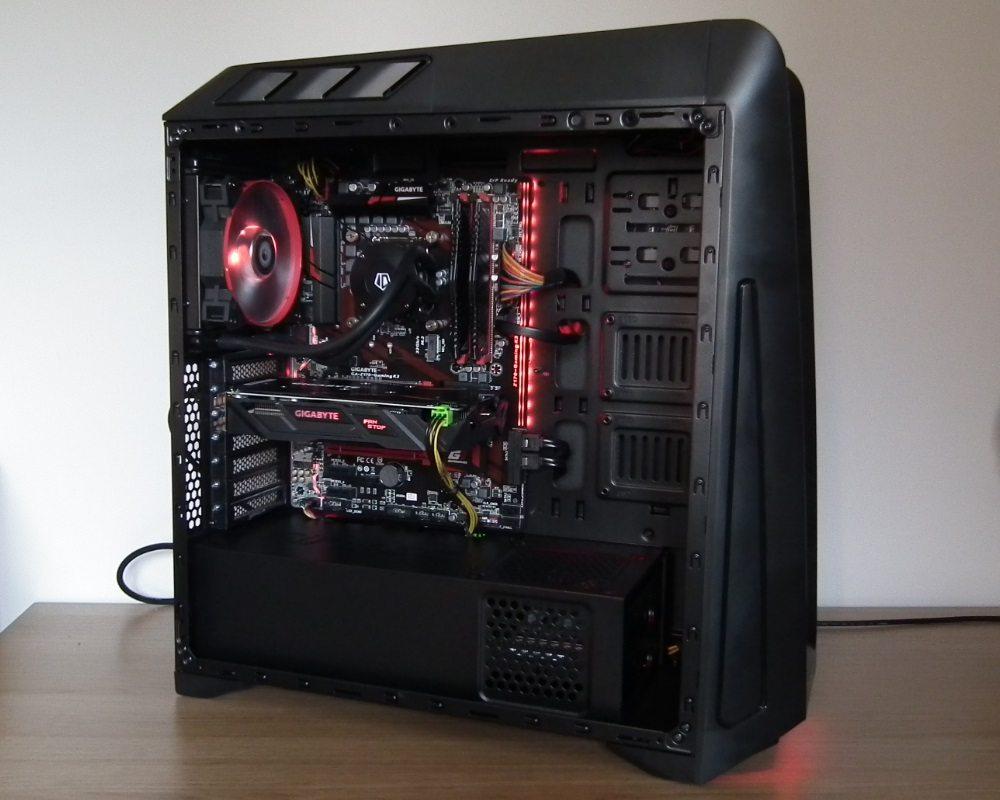 Antec GX1200 Build 1
