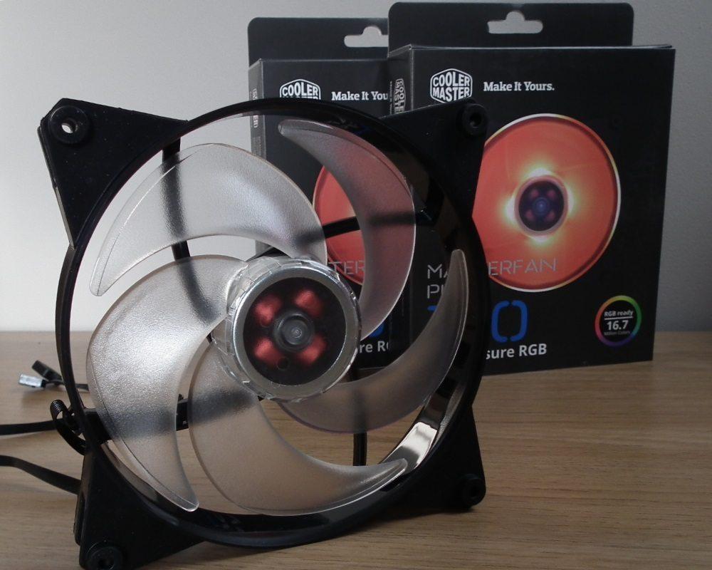 CM MasterFan Pro RGB Fan