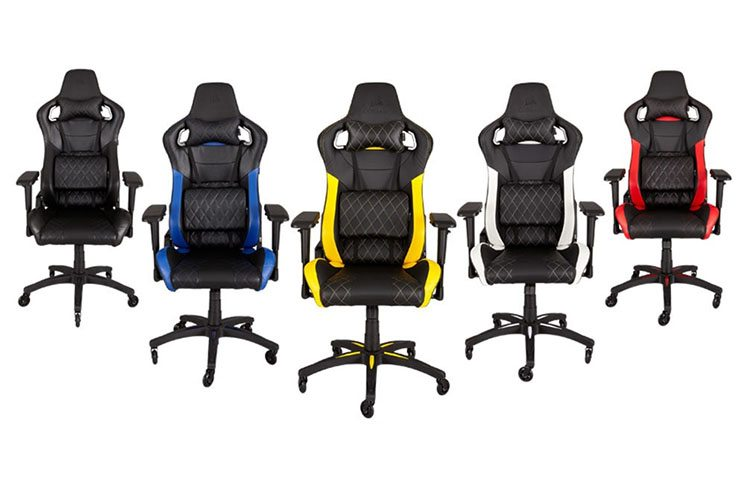 CORSAIR Announces Their New T1 RACE Gaming Chair