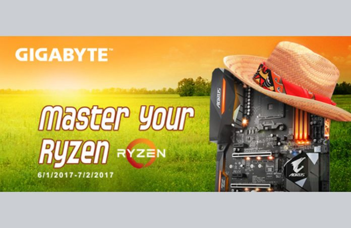 Gigabyte Master Your Ryzen OC Competition Feature
