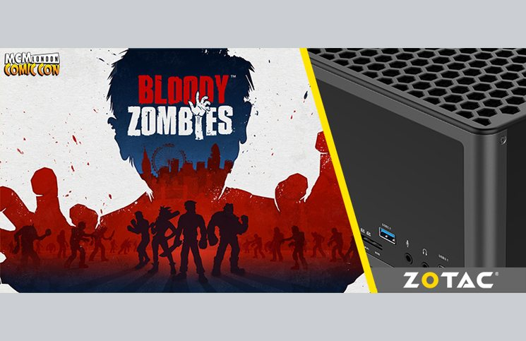 Bloody Zombies playable at MCM London Comic Con in partnership with ZOTAC