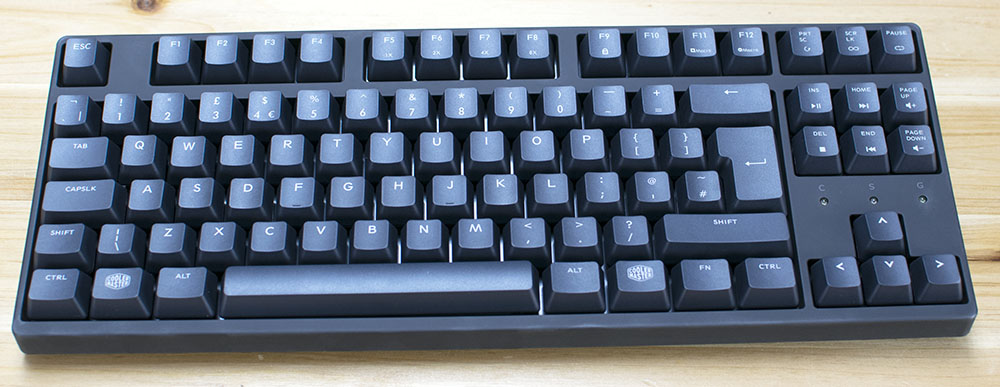 Cooler Master Masterkeys PBT S Review 1