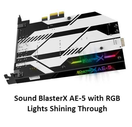 Creative AE-5 PCIe Soundcard Stock