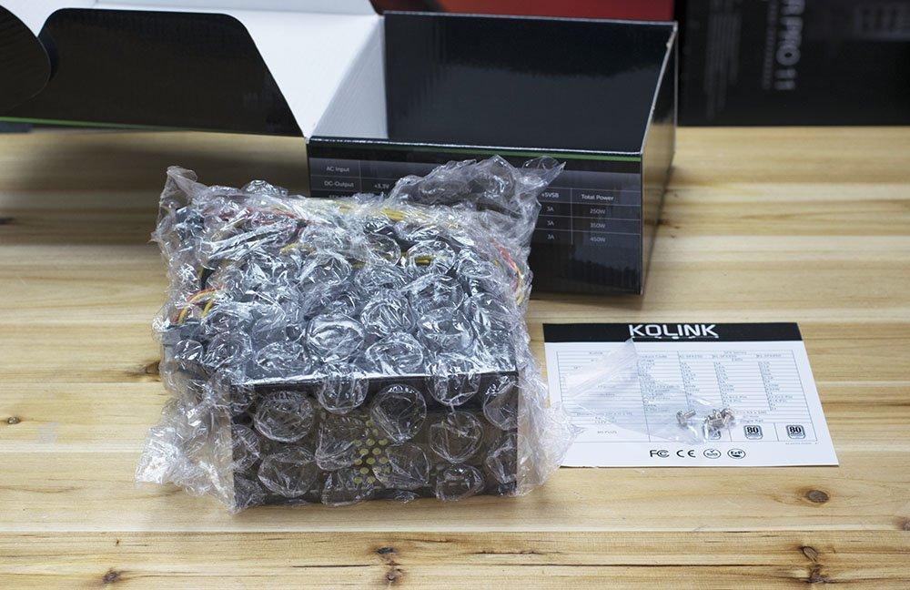 Kolink SFX 450W Review 2