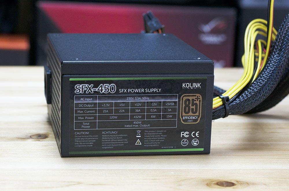 Kolink SFX 450W Review 5