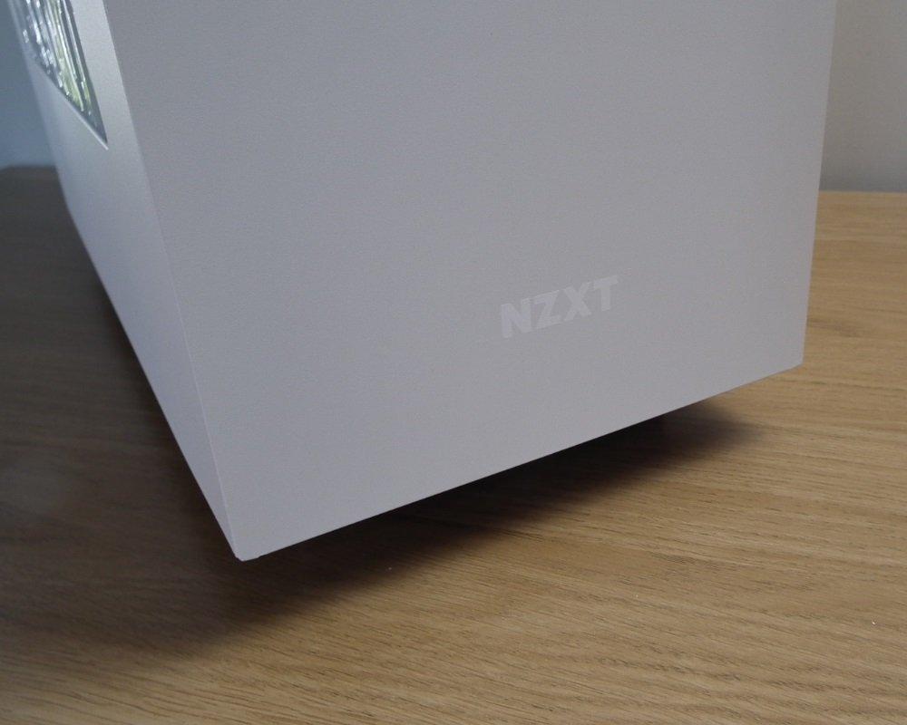 NZXT S340 White Logo