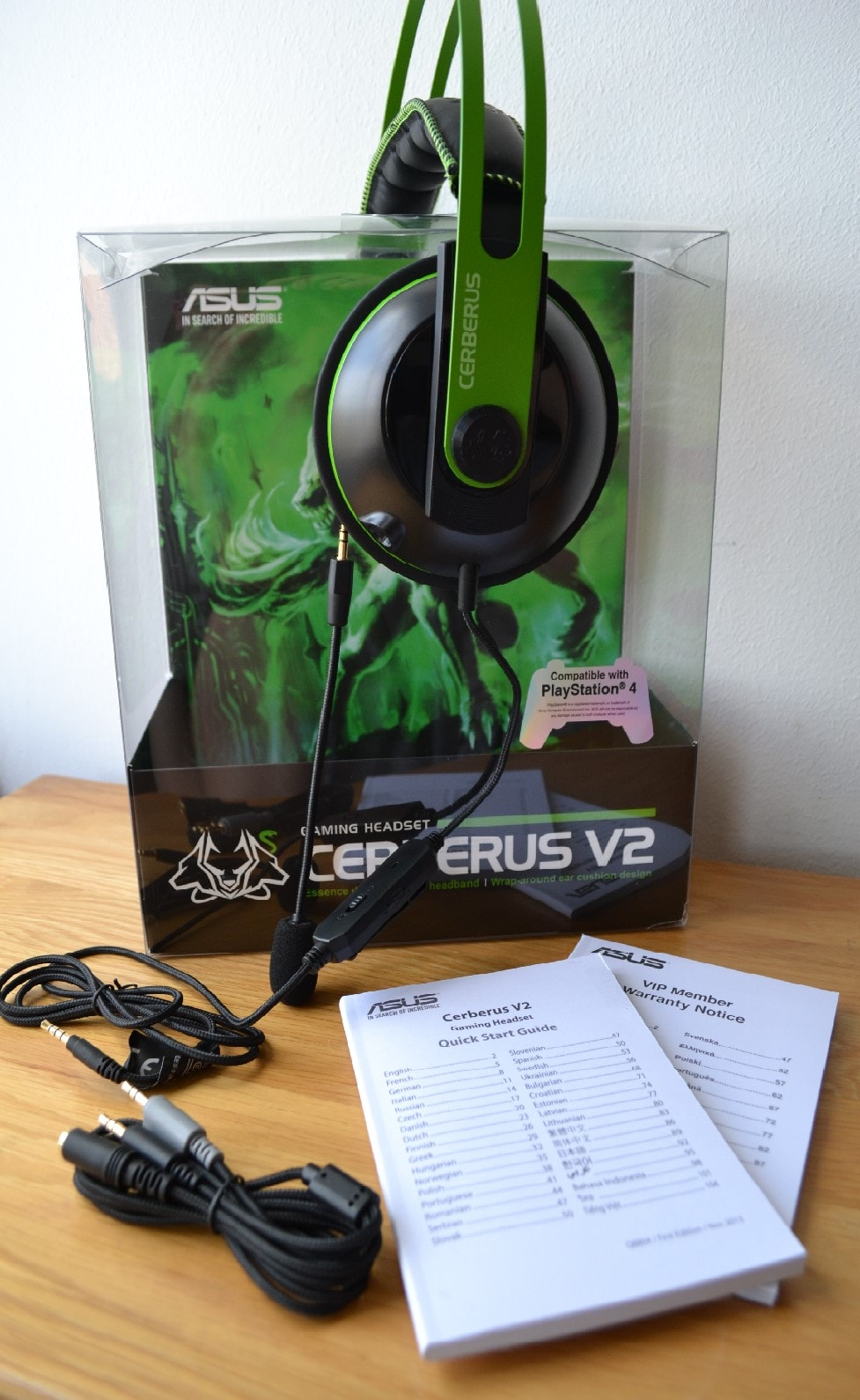 Asus Cerberus V2 Gaming Headset Review Play3r