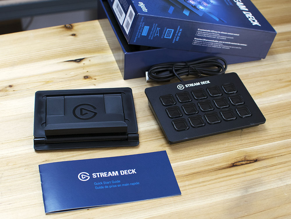 Elgato Stream Deck Contents/Accessories