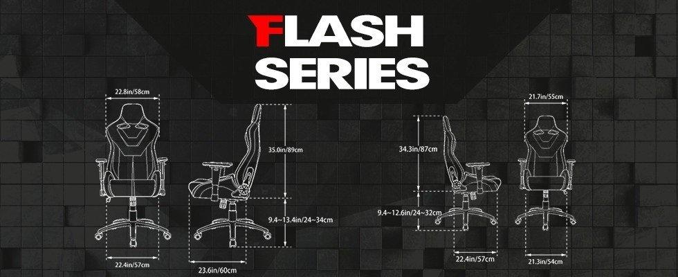 Ewin Racing Flash Size