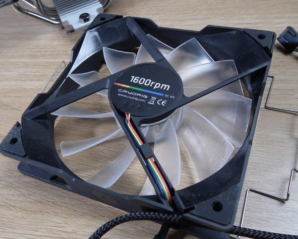 Cryorig H7 Quad Lumi fan