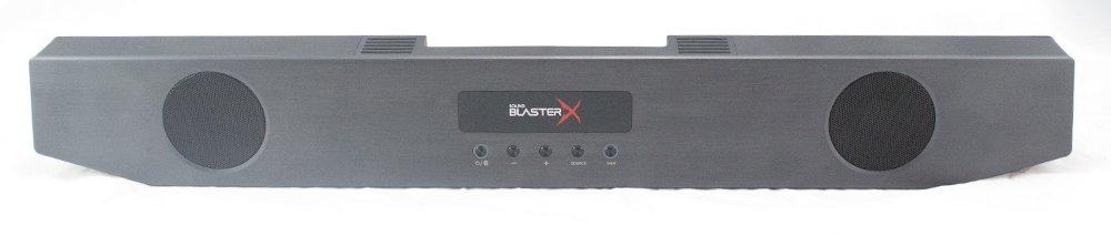 Creative SoundBlasterX Katana Soundbar Top