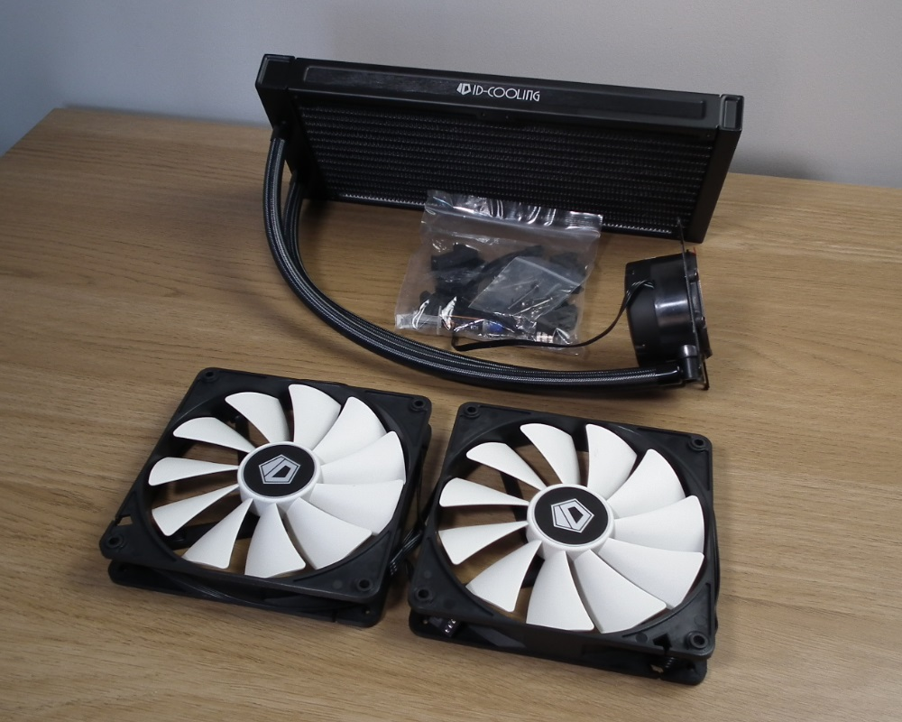 ID Cooling Frostflow 280 contents
