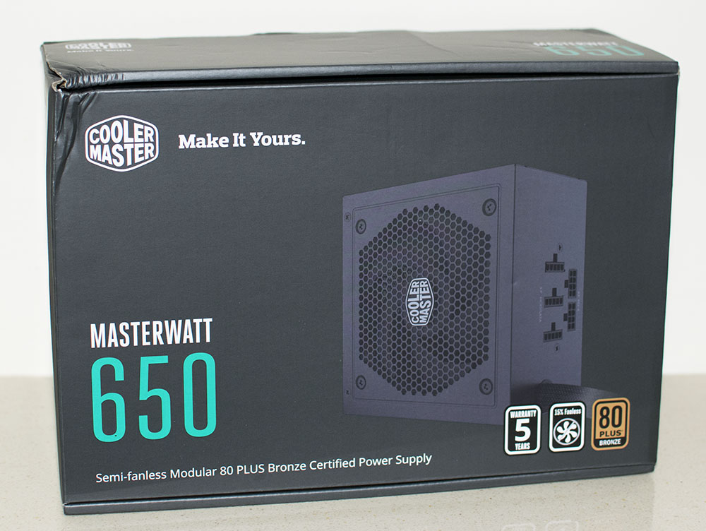 Cooler Master Masterwatt 650 PSU Review 1