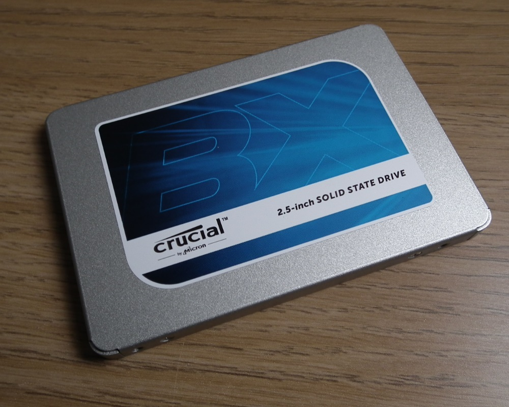 Crucial BX300 480GB casing