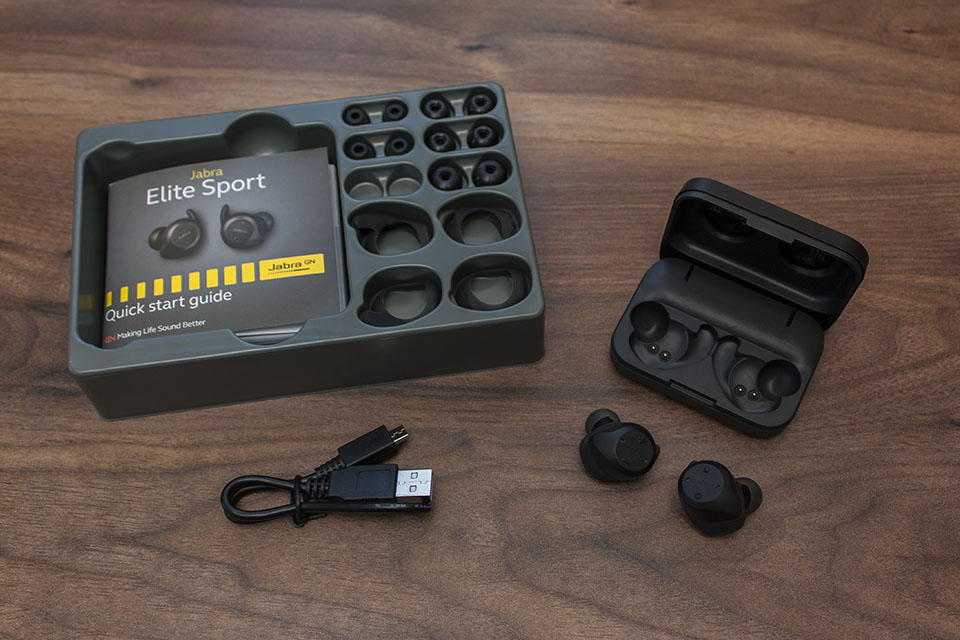 Jabra Elite Sport Contents