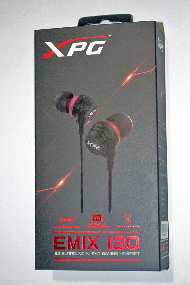 XPG EMIX 130 Box Front
