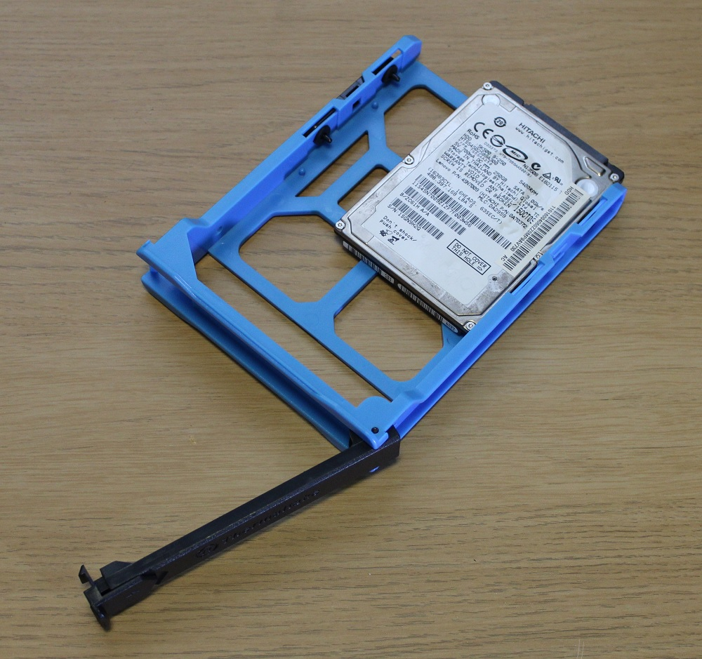 hdd caddy mounted drive