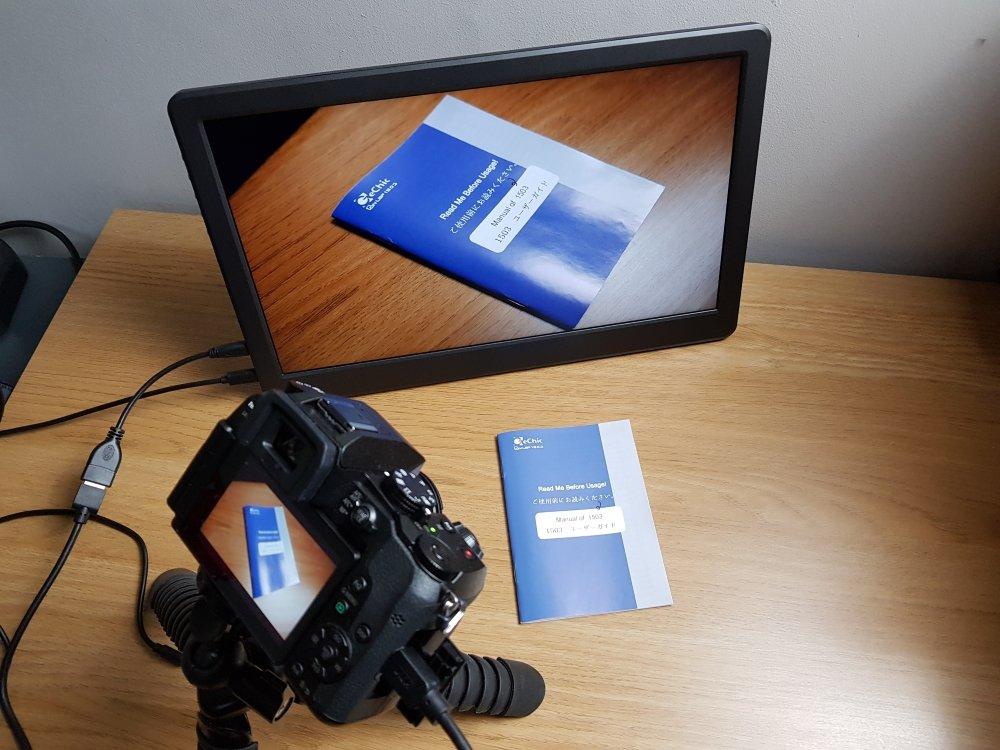 GeChic On-Lap 1503H camera
