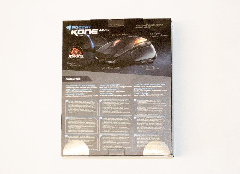 ROCCAT Kone AIMO Mouse Box Rear