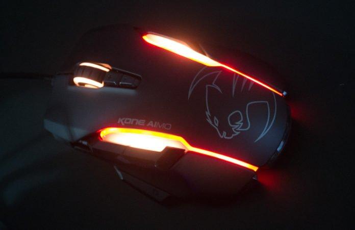 ROCCAT Kone AIMO Mouse Illuminated Feature