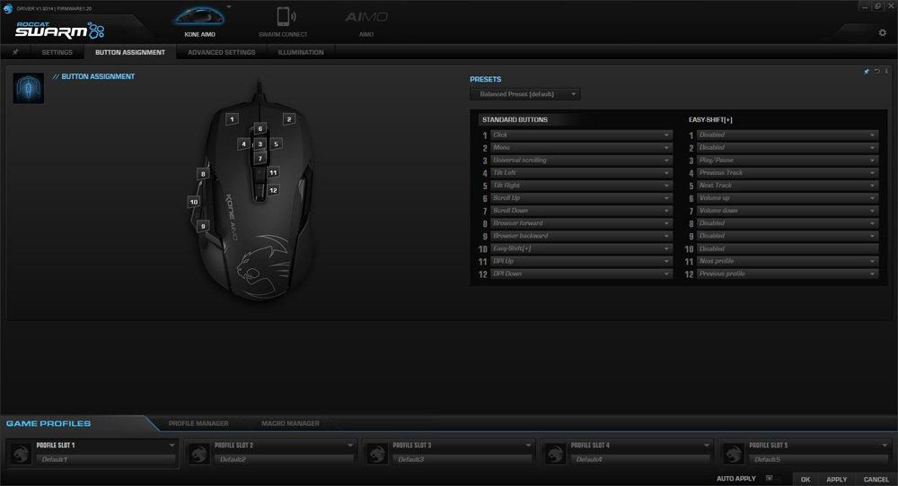 ROCCAT Swarm Kone Button Assignment (2)